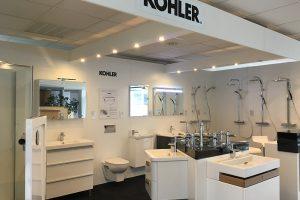 Der neue KOHLER Showroom in unserer Niederlassung Stuttgart