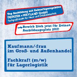 Ausbildung bei DEWEtech.de