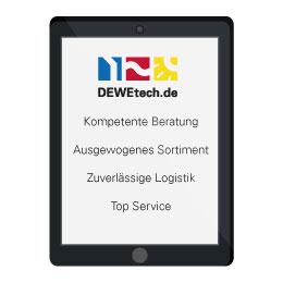 DEWEtech – Profi-Partner des Handwerks wenn es um Haus- und Gebäudetechnik geht