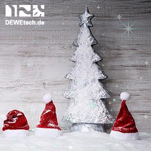 DEWEtech wünscht frohe Weihnachten!
