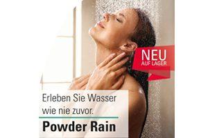 Neu auf Lager: Hansgrohe Powder Rain